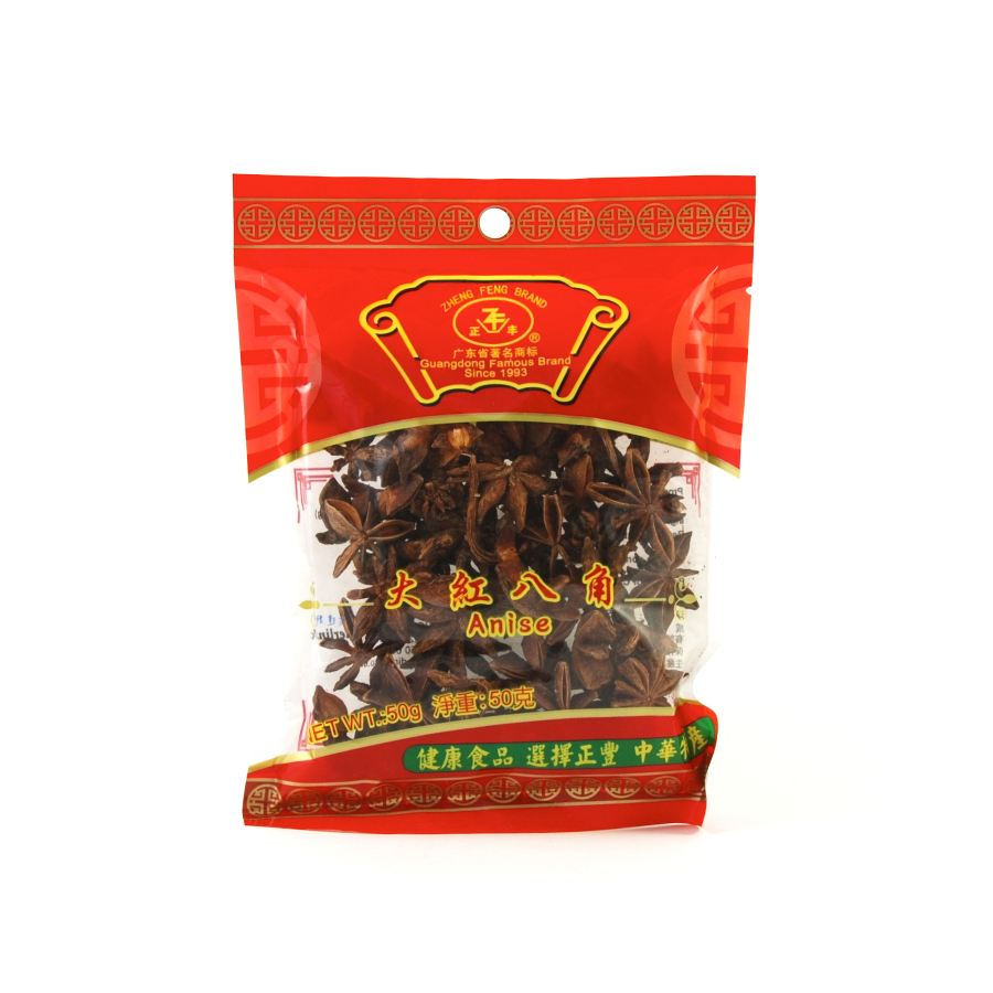 Zheng Feng Star Anise 25g Ingredients Seasonings Chinese Food