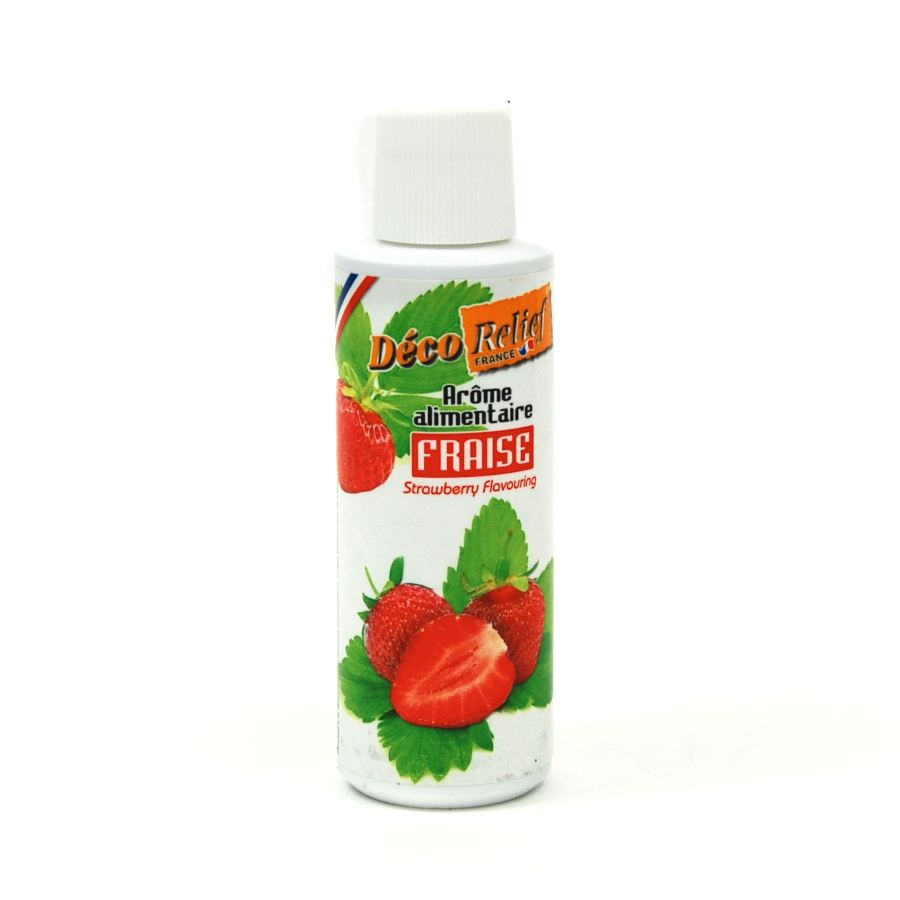 Deco Relief Concentrated Strawberry Flavour 125ml Ingredients Flavours & Colours French Food