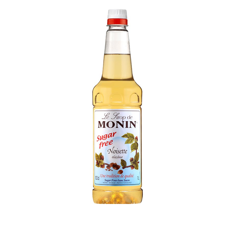 Monin Sugar Free Hazelnut Syrup 1 litre Ingredients Drinks Syrups & Concentrates