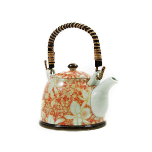 Suisen Red Japanese Teapot