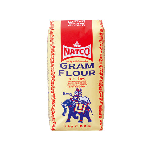 Natco Superfine Gram Flour 1kg Ingredients Flour Grains & Seeds Indian Food