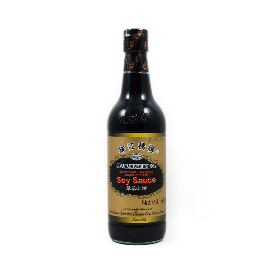 Pearl River Bridge Superior Mushroom Dark Soy Sauce 500ml Ingredients Sauces & Condiments Asian Sauces & Condiments Chinese Food