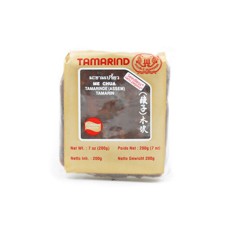 Panda Brand Tamarind Pulp 200g Ingredients Pickled & Preserved Vegetables Southeast Asian Food
