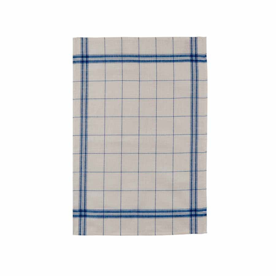 Coucke French Linen Tea Towel - EGR Bleu Cookware Kitchen Clothing French Food