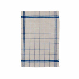 French Linen Tea Towel - EGR Bleu
