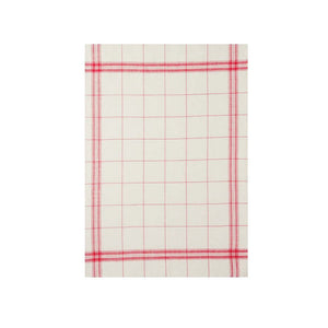 French Linen Tea Towel - EGR Rouge
