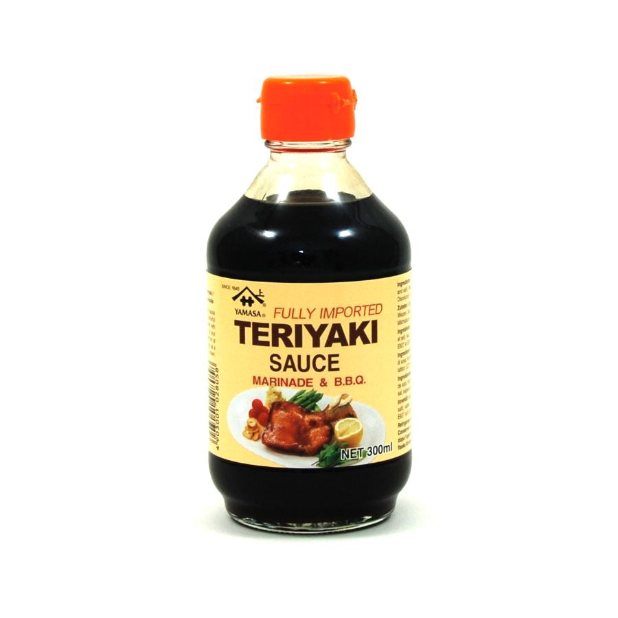 Yamasa Teriyaki Sauce 300ml Ingredients Sauces & Condiments Asian Sauces & Condiments Japanese Food