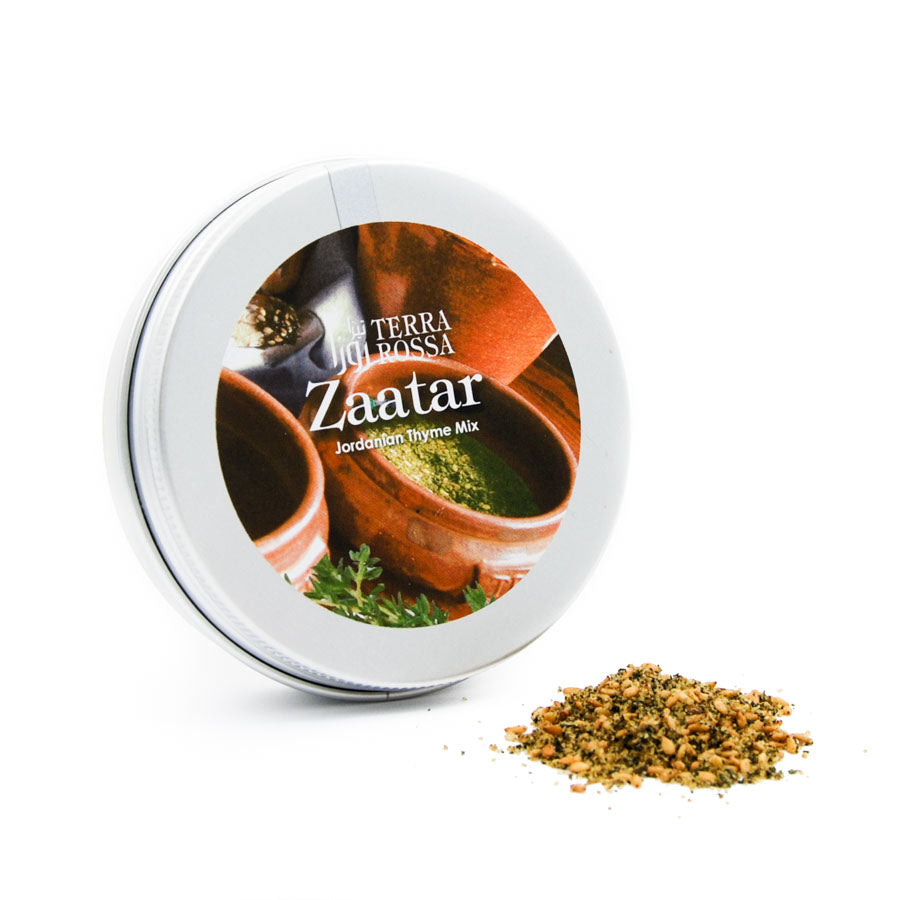 Terra Rossa Zaatar 50g Ingredients Seasonings