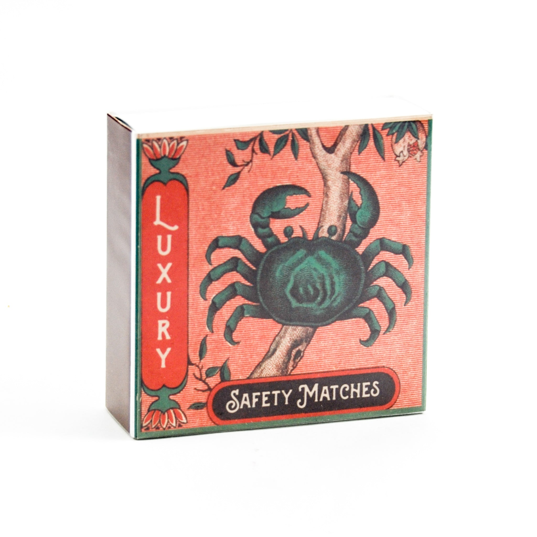 Archivist The Crab Luxury Safety Matches Cookware Household & Cleaning