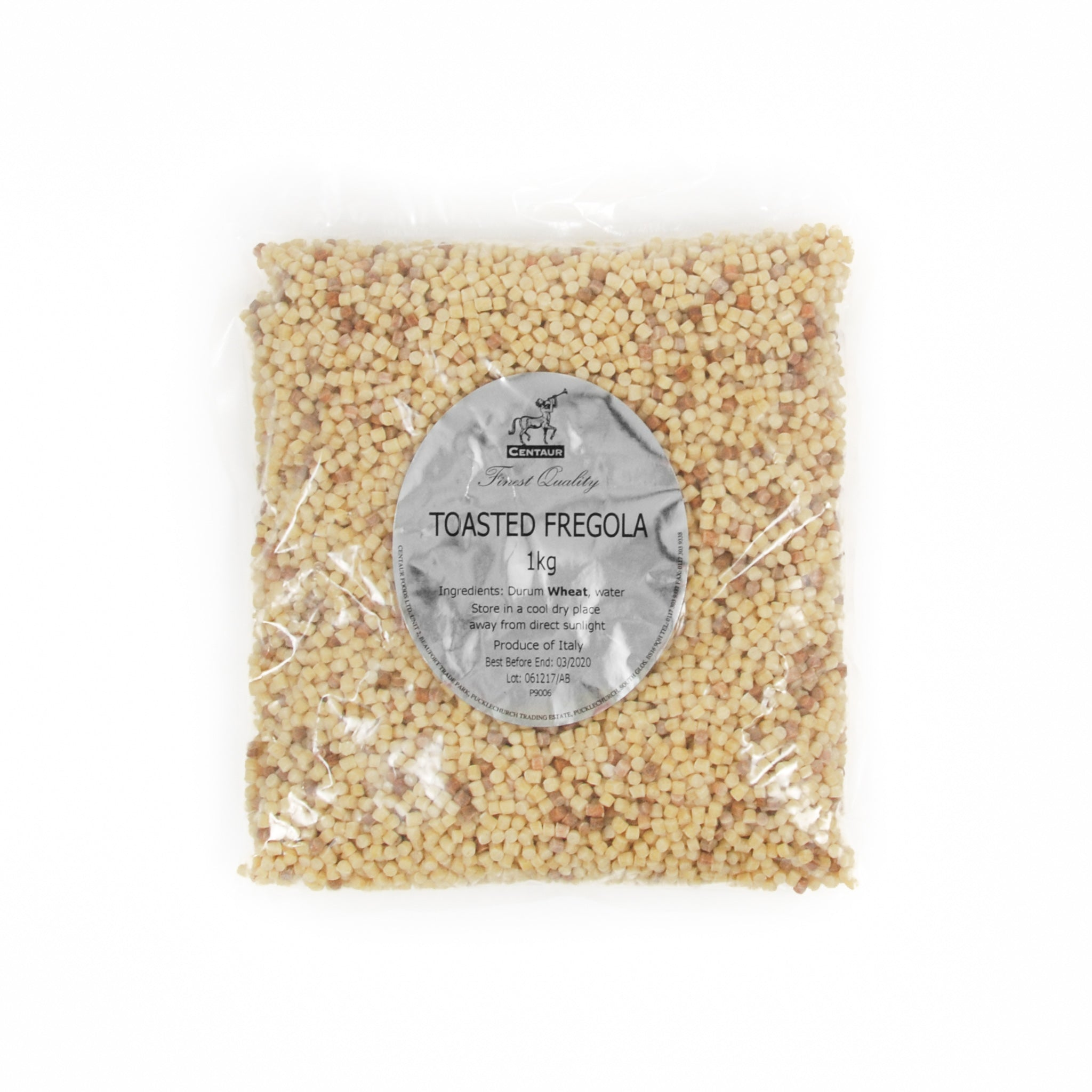 Centaur Fregola 1kg Ingredients Flour Grains & Seeds Italian Food