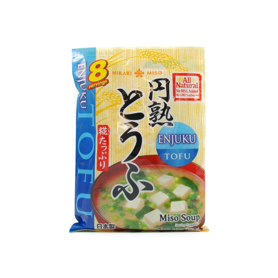 Hikari Instant Miso Soup With Tofu 8 x 22g servings Ingredients Seasonings Japanese Food