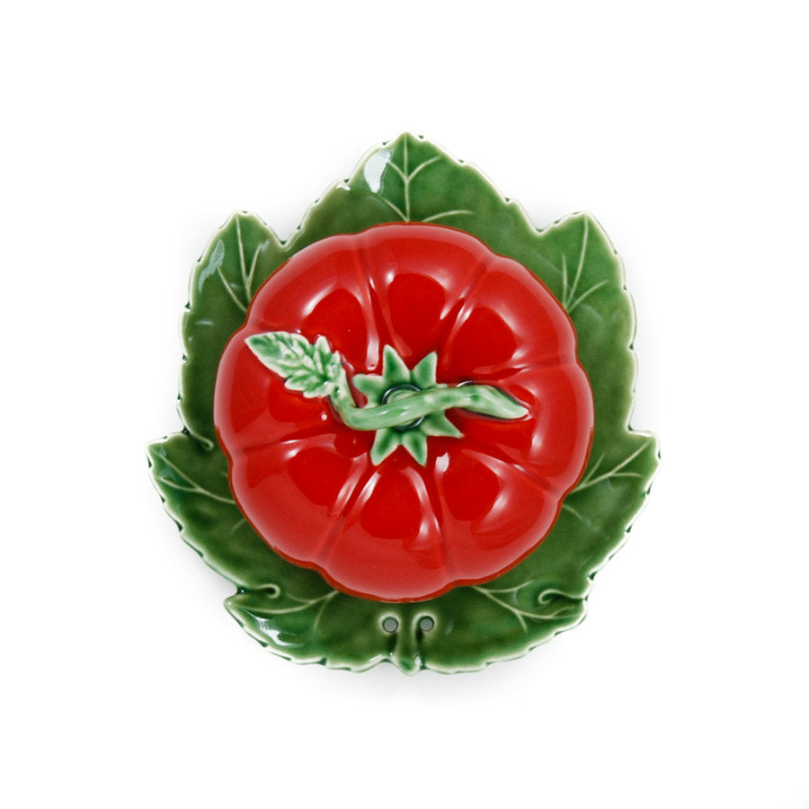 Bordallo Pinheiro Tomato Butter Dish With Cover Tableware
