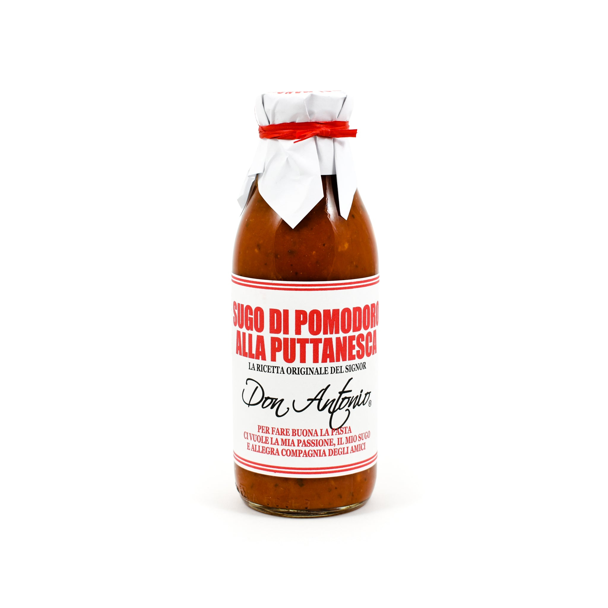 Don Antonio Puttanesca Sauce 500g Ingredients Sauces & Condiments Italian Food