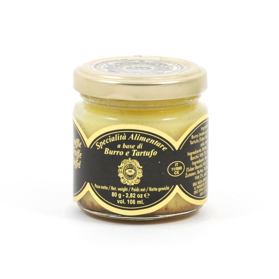 Marini Azzolini Truffle Butter 80g Ingredients Mushrooms & Truffles Italian Food