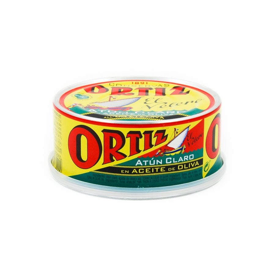 Ortiz Atun Claro Fillet In Olive Oil 250g Ingredients Seaweed Squid Ink Fish Spanish Food