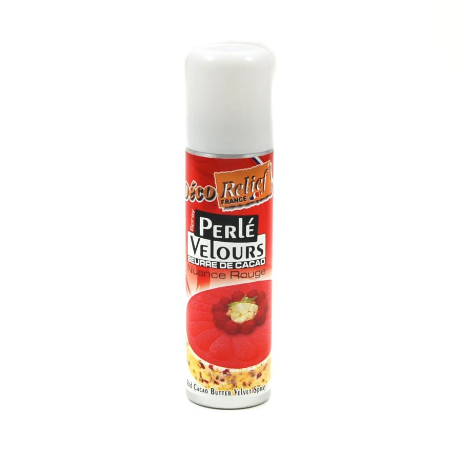Deco Relief Red Velvet Spray 150ml Ingredients Baking Ingredients Baking Sugar & Decoration French Food