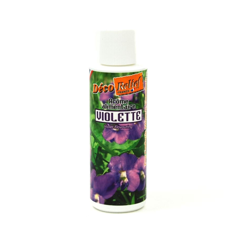 Deco Relief Concentrated Violet Flavour 125ml Ingredients Flavours & Colours French Food