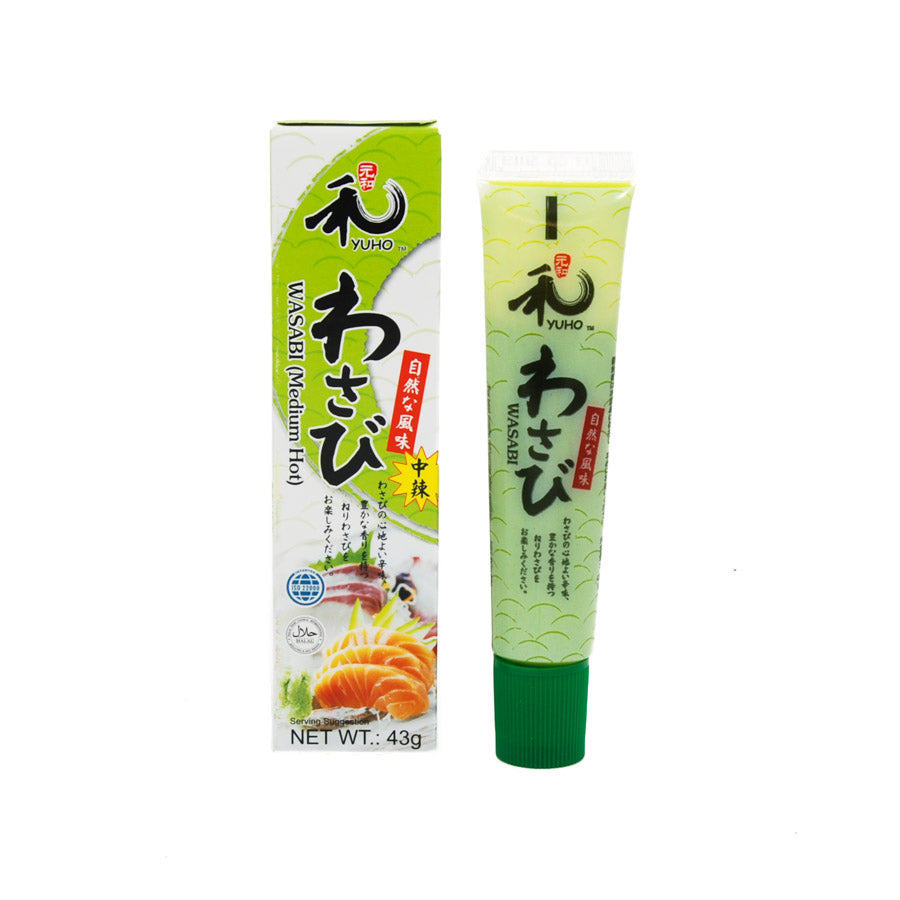 Yuho Wasabi Paste 43g Ingredients Sauces & Condiments Asian Sauces & Condiments
