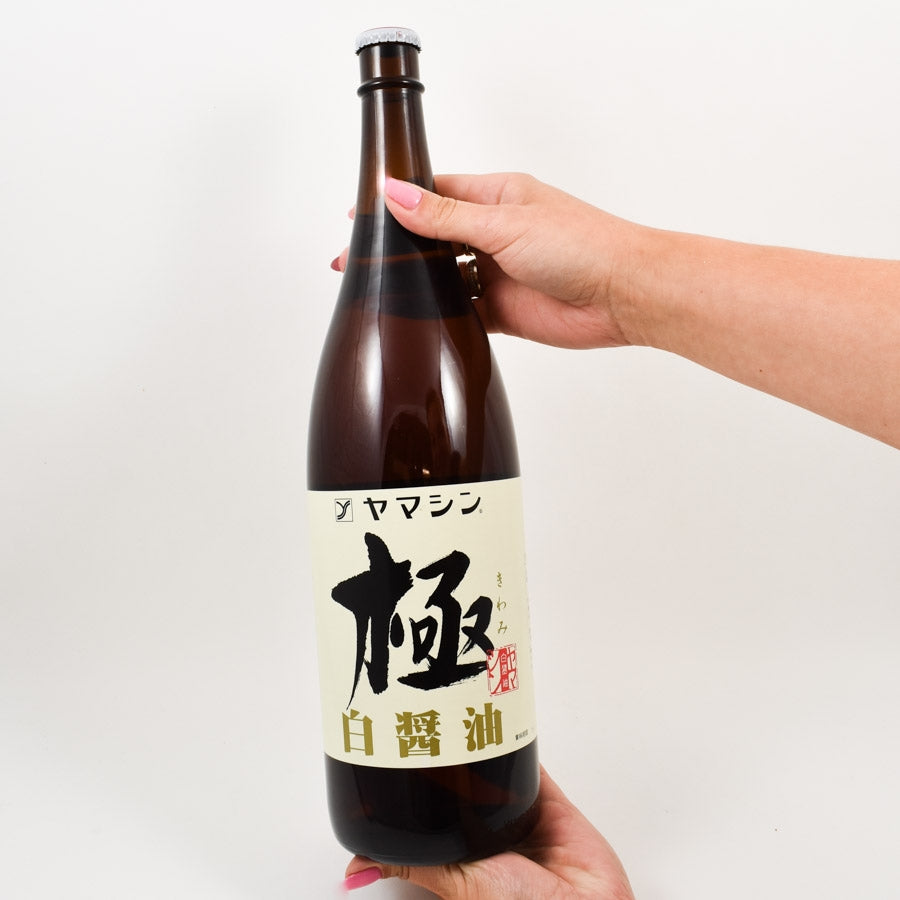 Yamashiki White Soy Sauce - Yamashin Shiro Shoyu 1.8l Ingredients Sauces & Condiments Asian Sauces & Condiments Japanese Food