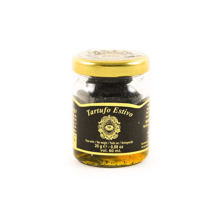 Marini Azzolini Whole Black Summer Truffle 25g Ingredients Mushrooms & Truffles Italian Food