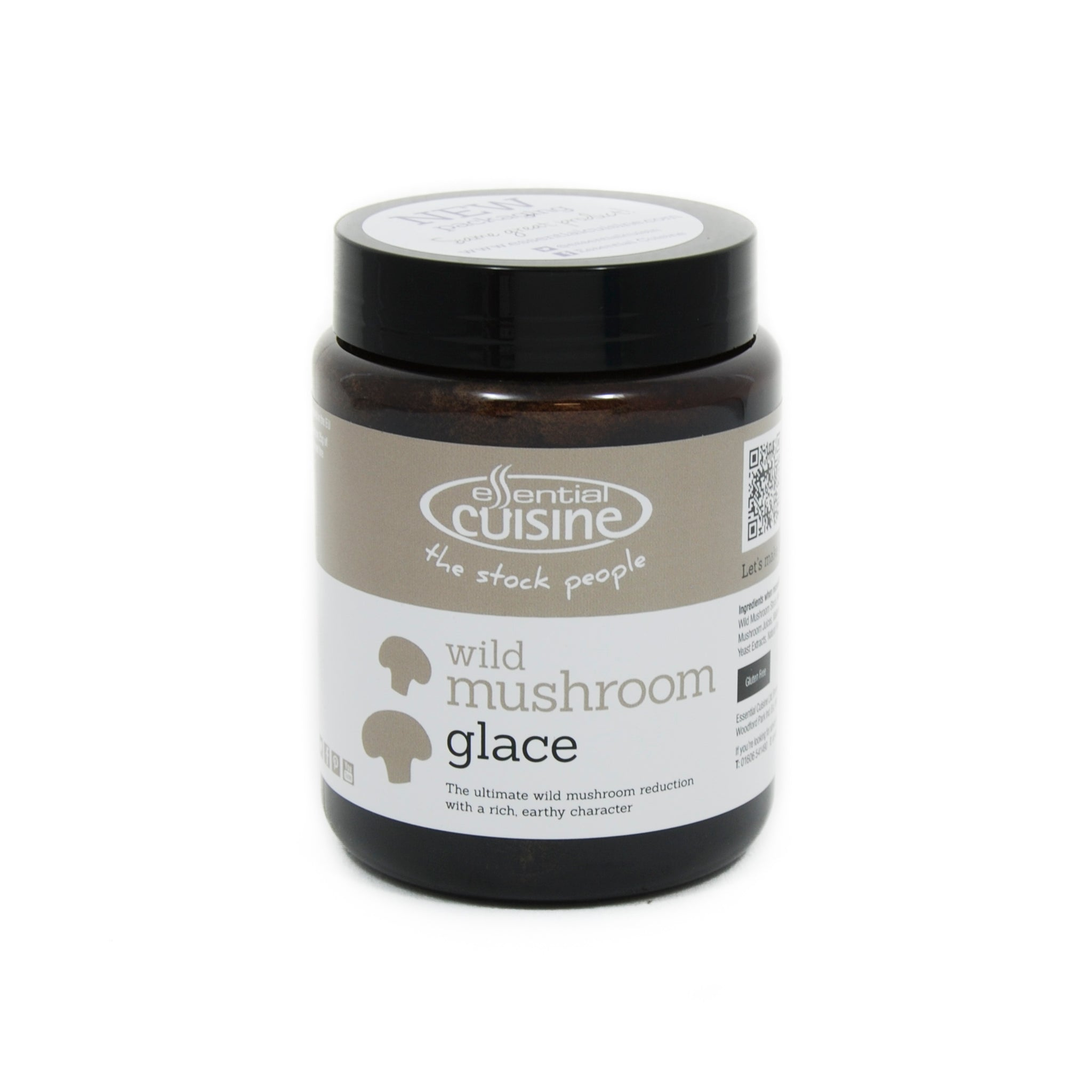 Essential Cuisine Wild Mushroom Glace 600g Ingredients Mushrooms & Truffles