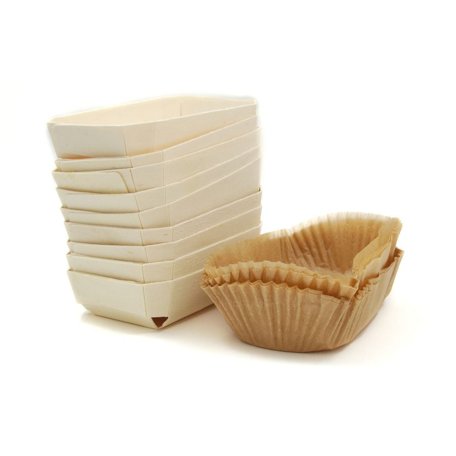 Wooden Baking Mould With Liner