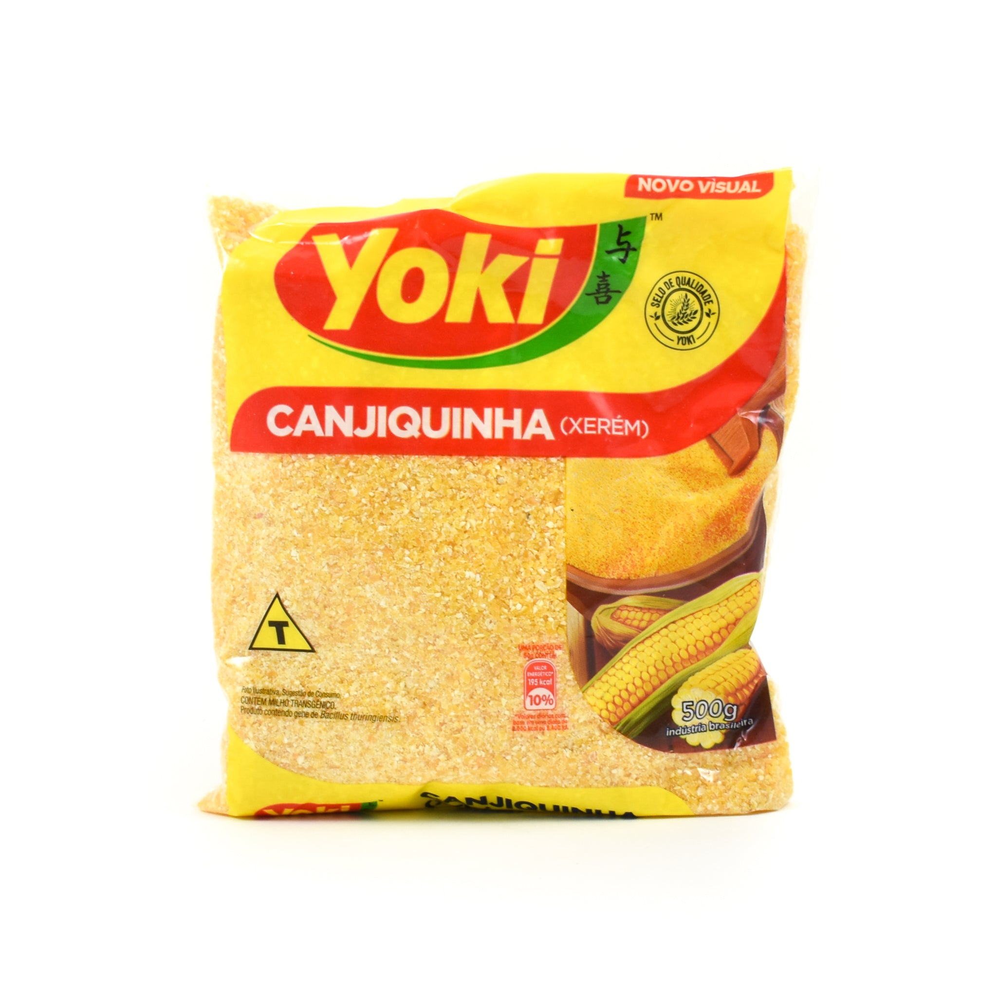 Yoki Corn Grits 500g Ingredients Flour Grains & Seeds Brazilian Food
