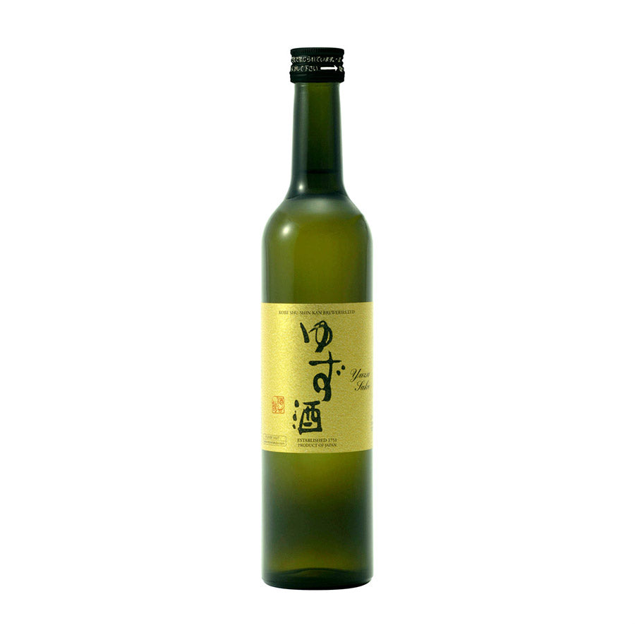 Fukuju Yuzu Sake 500ml Ingredients Drinks Alcohol Japanese Food