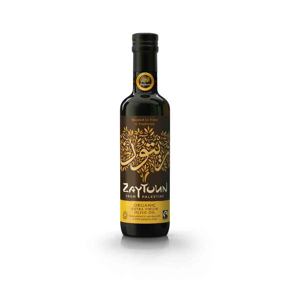 Zaytoun Organic Extra Virgin Olive Oil 500ml Ingredients Oils & Vinegars Middle Eastern Food