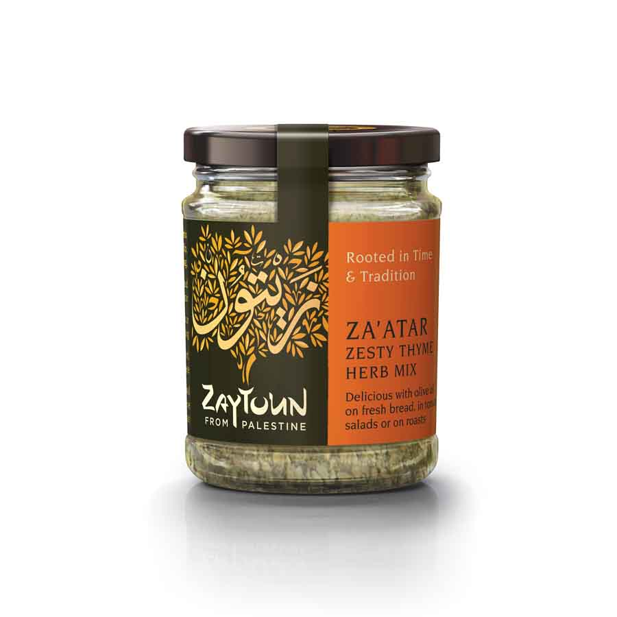 Zaytoun Palestinian Za'atar 80g Ingredients Seasonings Middle Eastern Food