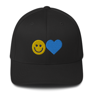 Happy Heart Cap