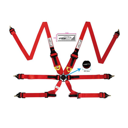 Six Point FIA Approved Racing Harness