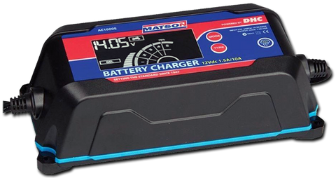 AE-1000E 10 Amp Smart Lithium Charger
