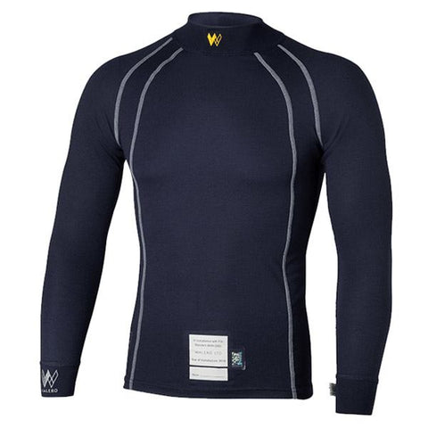Racing Underwear Top by Walero® Temperature Regulating Flame Retardant FIA Approved