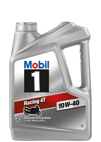 MOBIL 1™ Motorcycle RACING 4T 10W-40