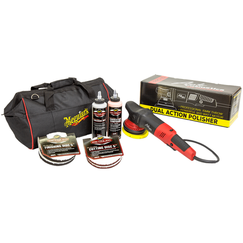 Meguiar's PRO-15Plus Paint Correction Kit Including the PRO-15 DA Polisher