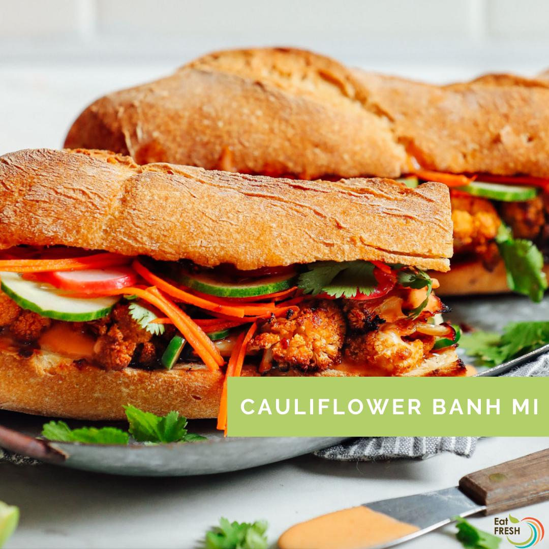 Cauliflower Banh Mi
