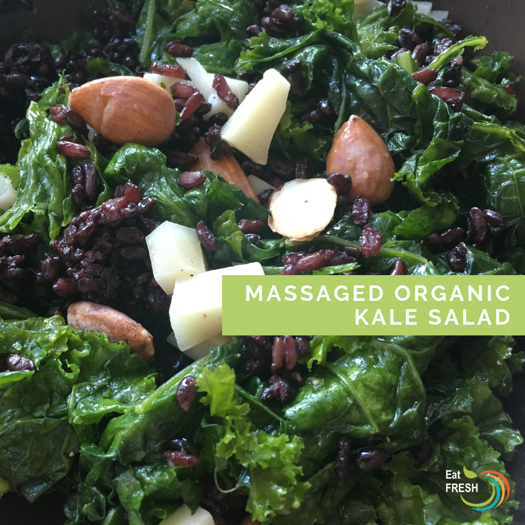 Massaged Organic Kale Salad