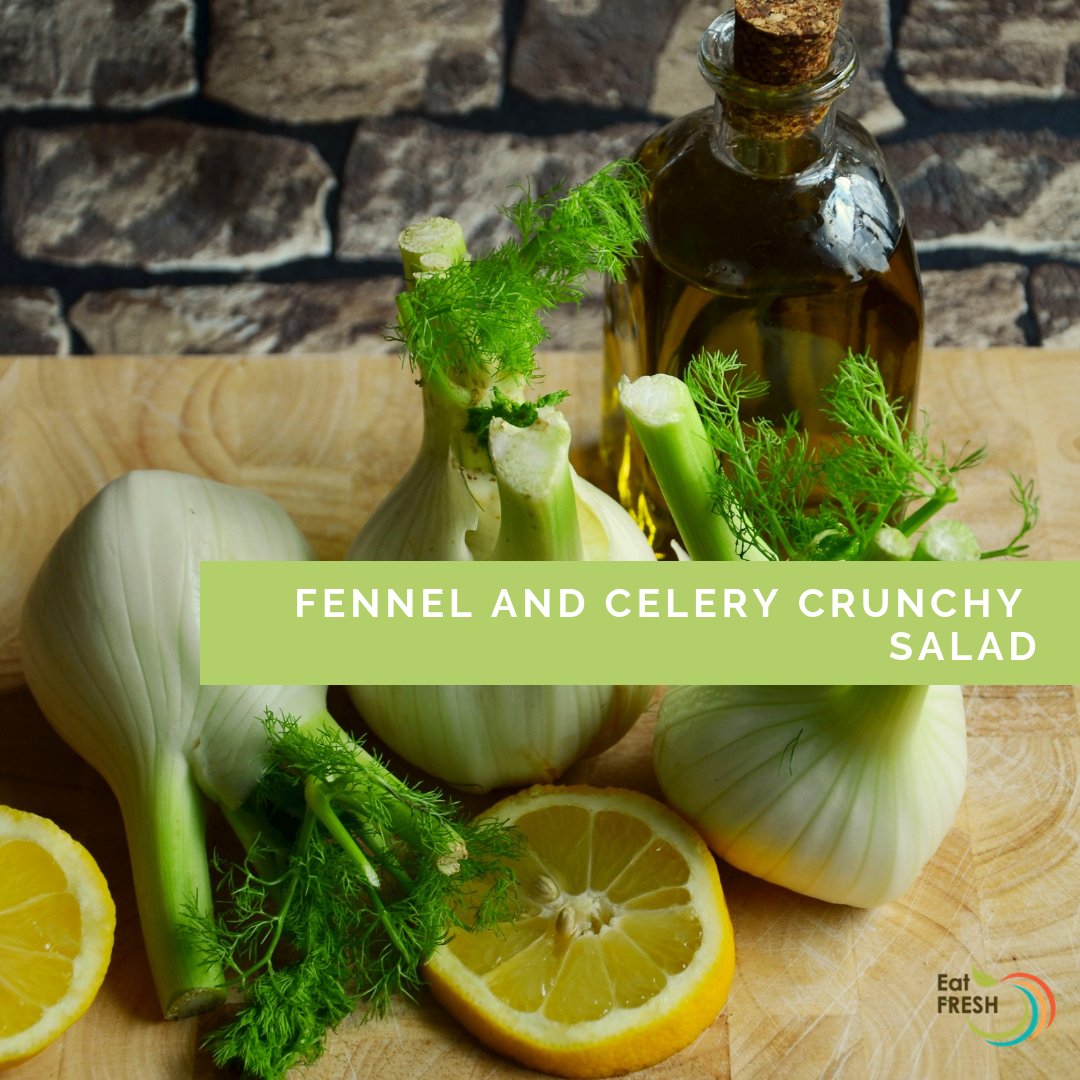 Fennel and Celery Crunchy Salad