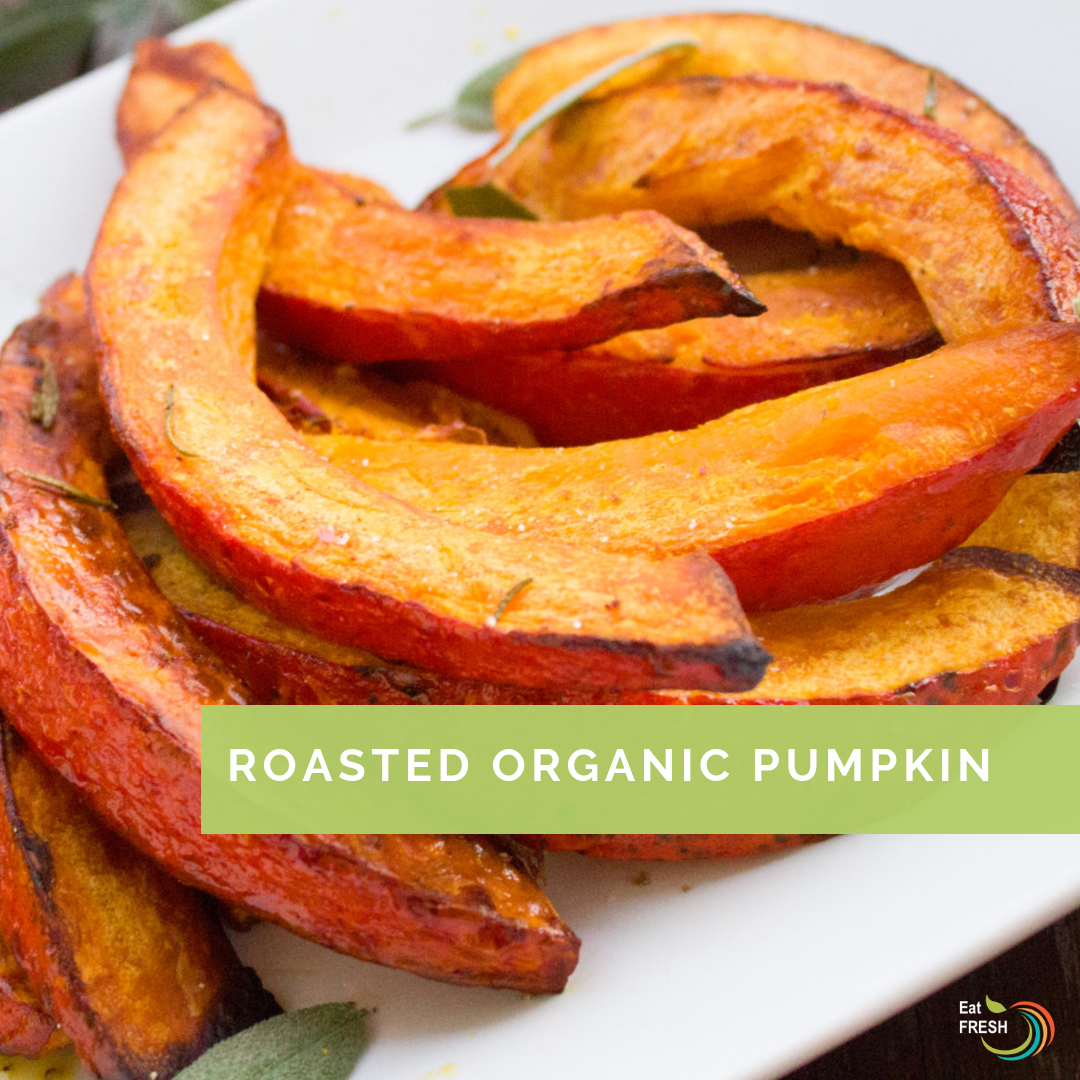 Roasted Organic Pumpkin