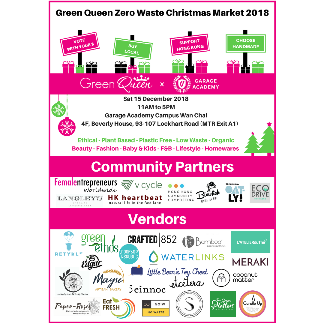 15th December ~ Green Queen Zero Waste Christmas Market