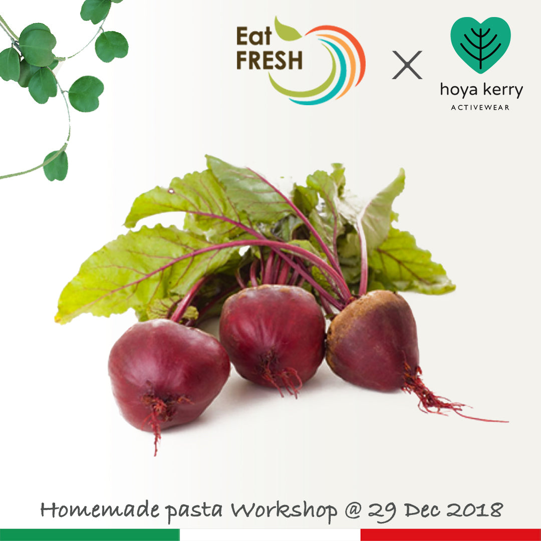 Dec. 29th ~ Homemade pasta workshop - Eat Fresh x Hoya Kerry