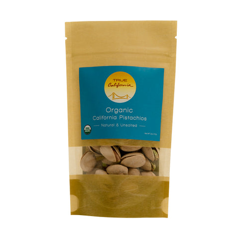 Organic California Natural Pistachios (Small) - True California