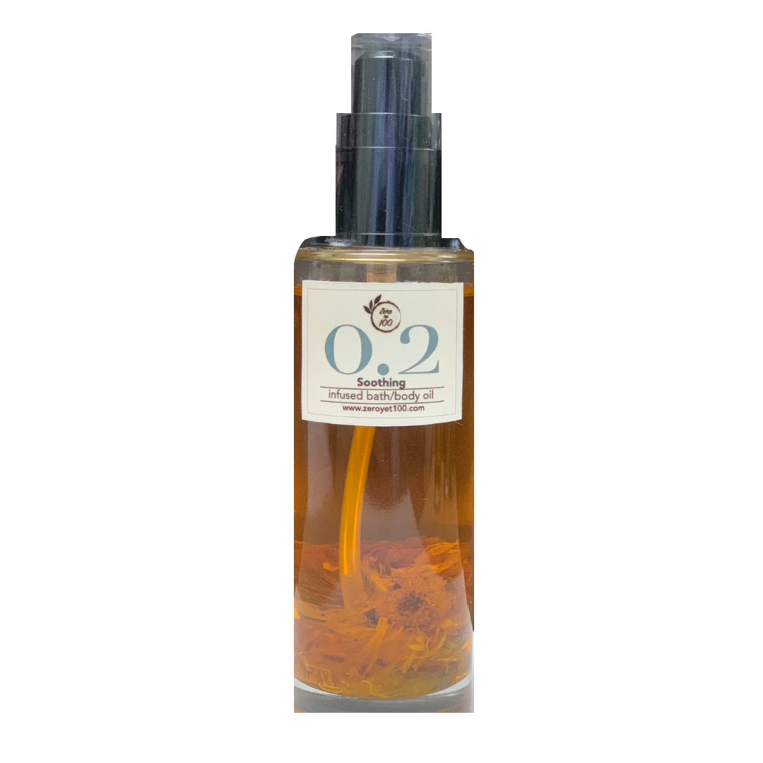 Infused bath/body oil (different fragrances) - ZeroYet100