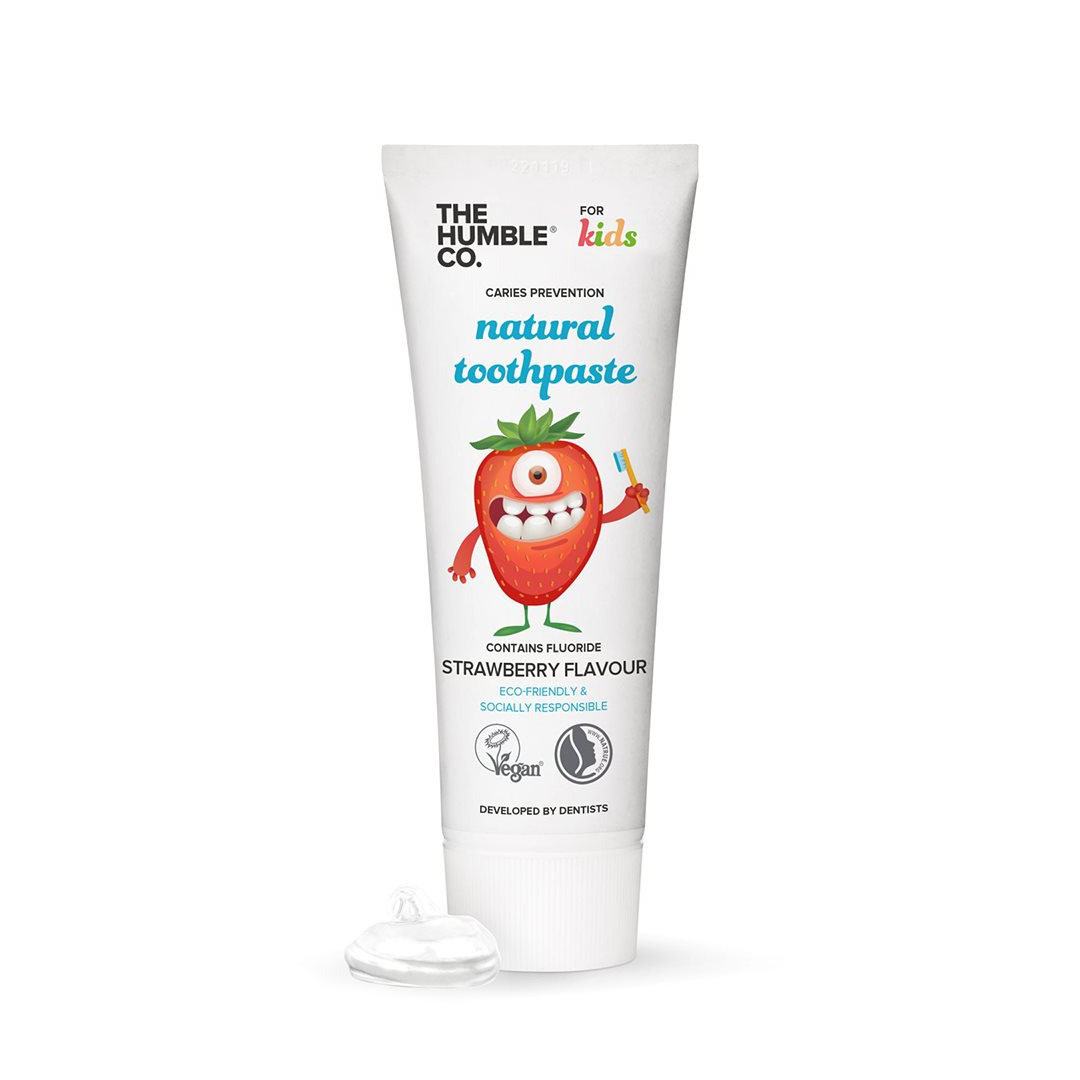The Humble Co. - Strawberry Natural toothpaste (kids)