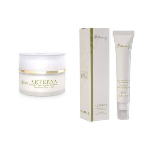 Abeauty AETERNA Set - Nourishing Face Cream + Eyes And Lips Ultra Nourishing Serum