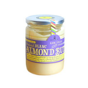 Organic Raw Vegan Stone-ground Almond Butter (Blanc) - Foodcraft