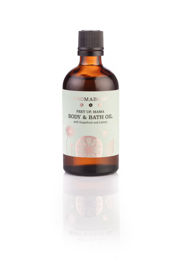 AromaBump Feet Up, Mama Body & Bath Oil