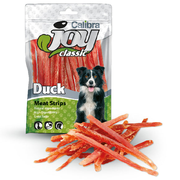 Calibra Joy Dog Duck Strips 80g