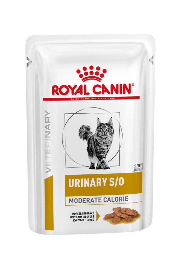 Royal Canin Cat Urinary S/O Moderate Calorie portie 85g kat 12 stuks